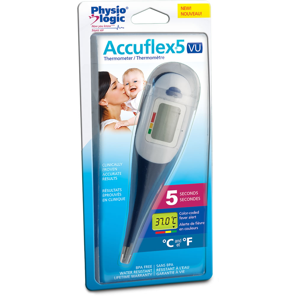 Accuflex5 VU Thermometer, from Physio Logic