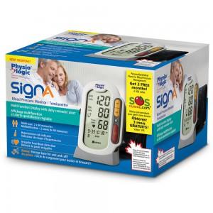 SignA Blood Pressure Monitor retail box